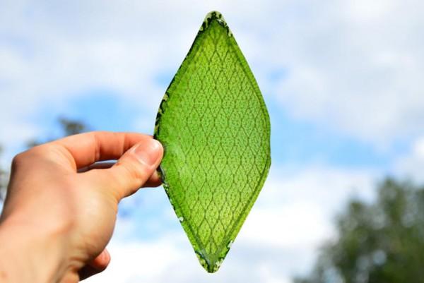 Создан искусственный лист для космических путешествий