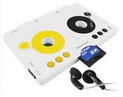 MP3-плеер в виде кассеты