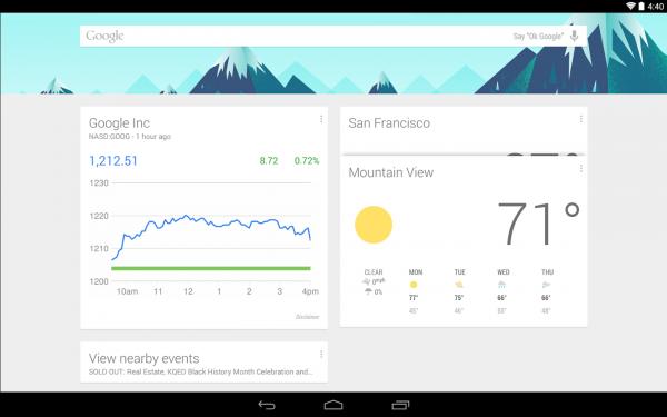 Лаунчер Google Now можно запустить на Jelly Bean