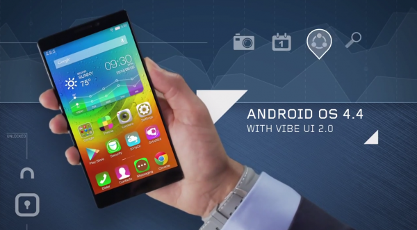 Lenovo официально анонсировала 6-дюймовый флагман Vibe Z2 Pro
