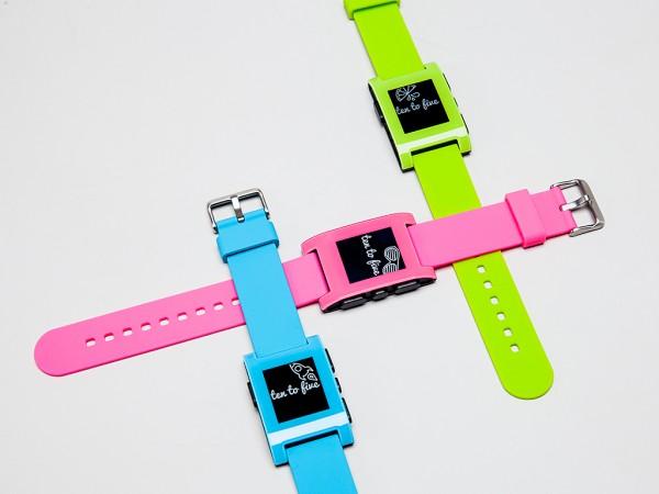 Умные часы Pebble выйдут в 3 новых оттенках