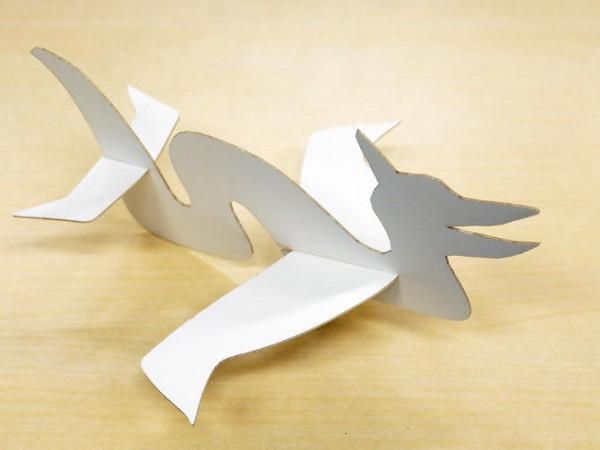 Pteromys запускает любые бумажные самолетики