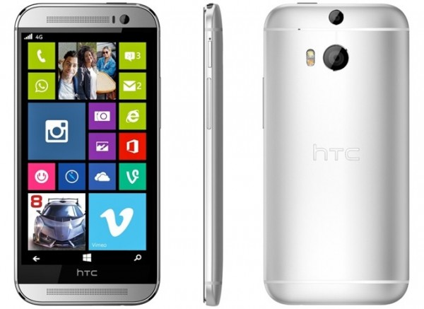 ����� �������� �������������� HTC One M8 ��� Windows Phone