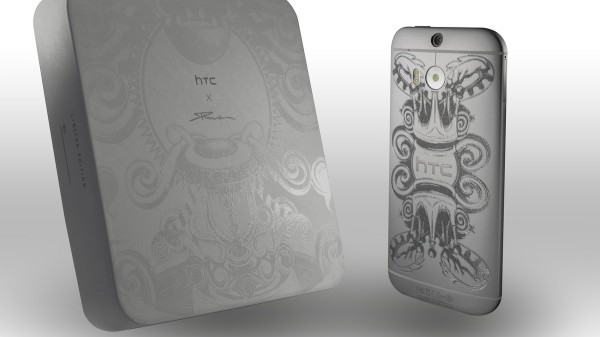 Смартфону HTC One M8 сделали тату