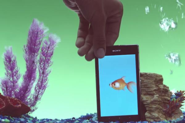 Sony выпускает ряд приложений, работающих под водой