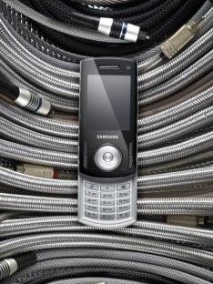 Новый музыкальный телефон Samsung F400