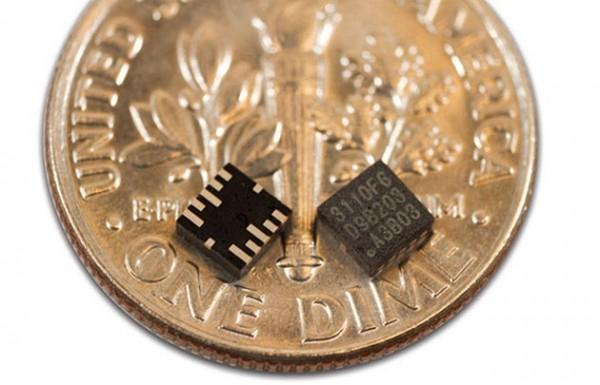 mCube выпускает миниатюрные акселерометры