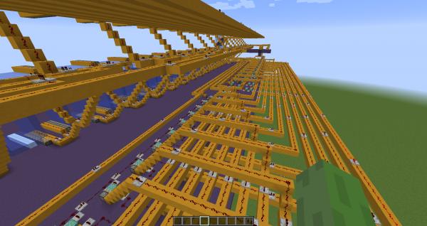 В Minecraft построили функционирующий жесткий диск