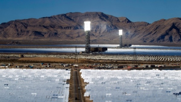 Крупнейшая в мире солнечная электростанция сжигает тысячи птиц