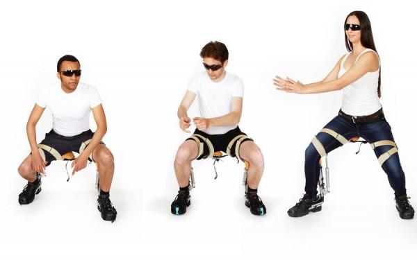 Chairless Chair: умный стул, который всегда с вами
