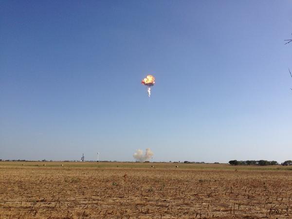 Ракета Элона Маска взорвалась
