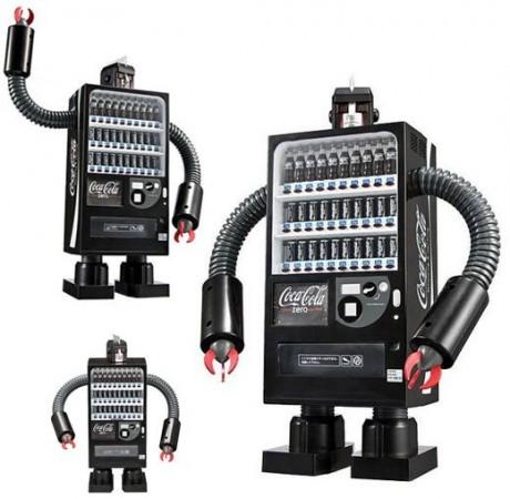 Робот-автомат Coca Cola