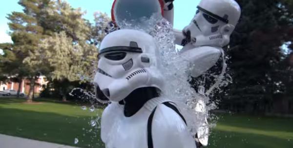 Имперские штурмовики приняли вызов ALS Ice Bucket