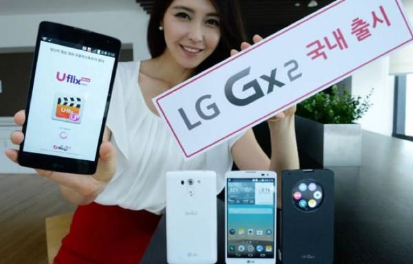 Анонс Android-смартфона LG Gx2