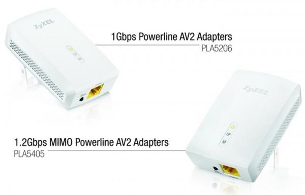 ZyXEL представляет гигабитные Ethernet-адаптеры для электросетей.