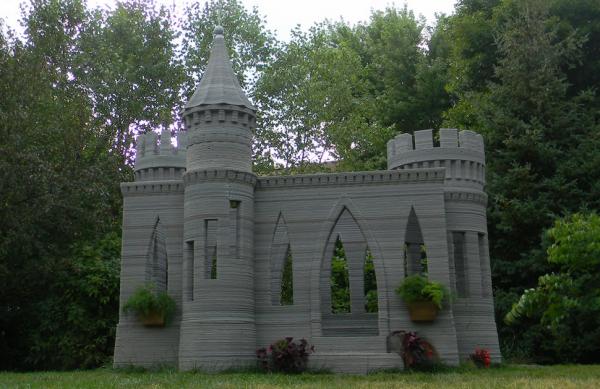 Андрей Руденко напечатал замок на 3D-принтере