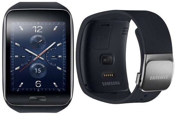 Samsung представила умные часы Gear S с изогнутым дисплеем