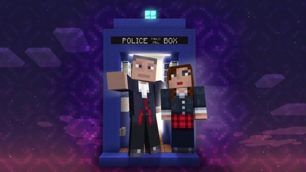 Доктор Кто и Minecraft встретятся на Xbox 360
