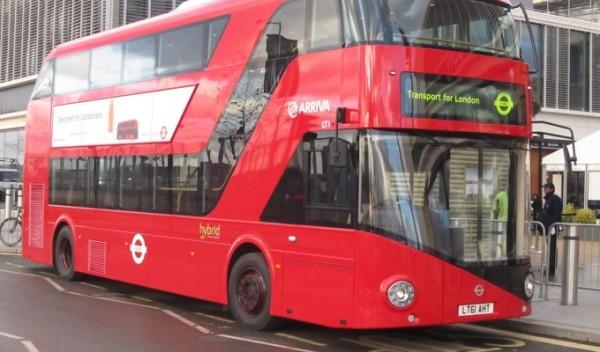 Лондонские автобусы получат беспроводную зарядку