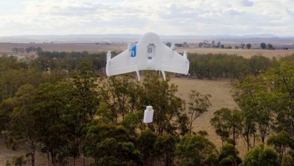 Google тоже создает беспилотники для доставки товаров