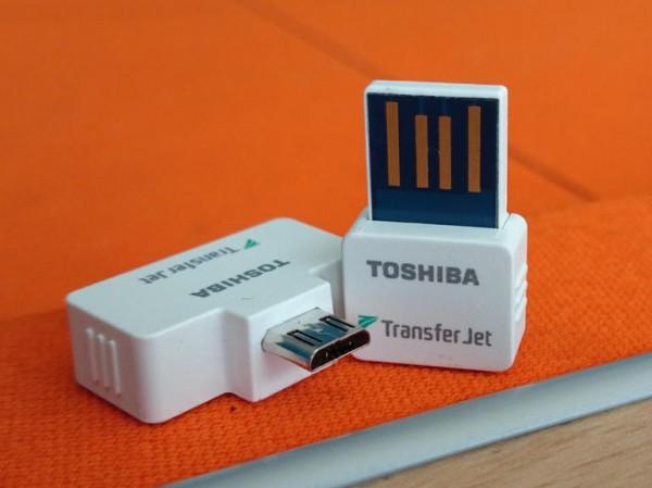 Toshiba избавится от NFC с помощью TransferJet