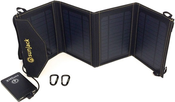 SunJack Phone Portable Solar Charger — портативное зарядное устройство на солнечных батареях