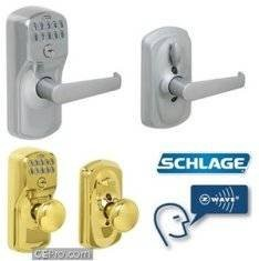 Высокотехнологичный дверной замок Schlage Z-Wave Door Lock
