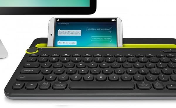 Logitech K480 — клавиатура-док для нескольких устройств