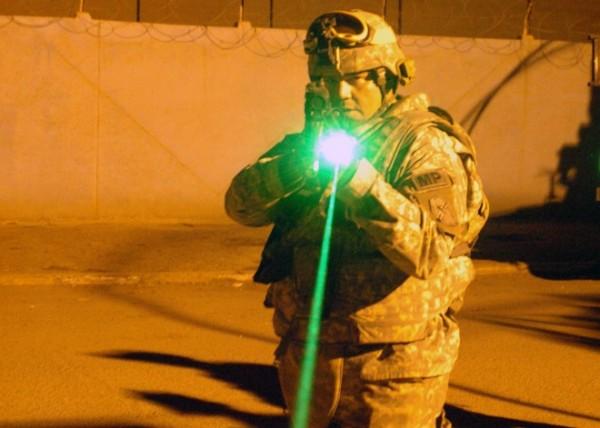 Лазер эффективнее, чем предупредительный выстрел