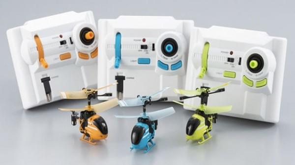 Bandai создала 1,8-дюймовый вертолет