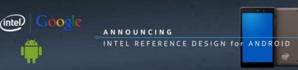 Intel представляет референсный дизайн для Android-планшетов