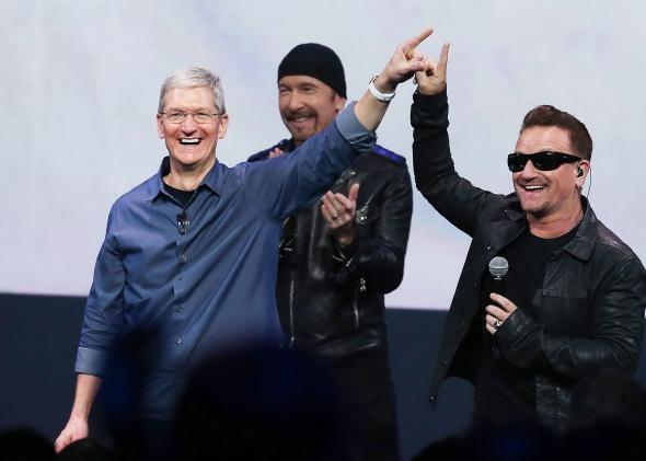 U2 и Apple заставят фанатов покупать больше музыки