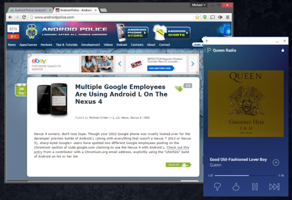 ArChon запускает приложения для Android в браузере