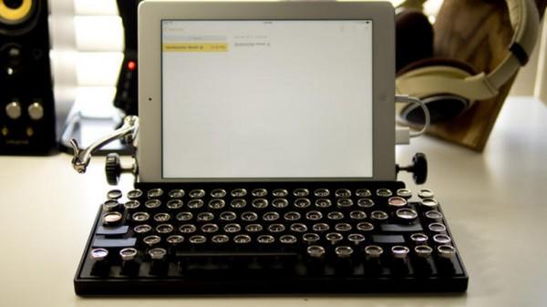 Qwerkywriter — механическая клавиатура с USB и Bluetooth