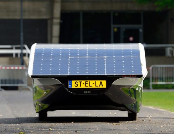 Stella может проехать на солнечных батареях больше 800 км