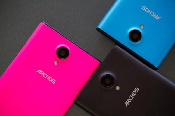 Archos представила недорогие смартфоны 50b Platinum и 45c Platinum