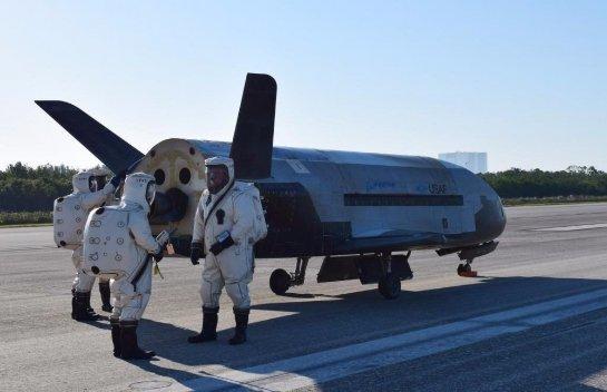 Шаттл военно-воздушных сил Америки приземлился, проведя на орбите 719 дней