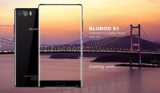 Новый смартфон без рамки Вluboo S1 будет стоить около 150 у.е.