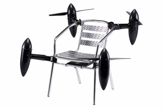 Японцы создали новую технологию для превращения любых предметов в дроны