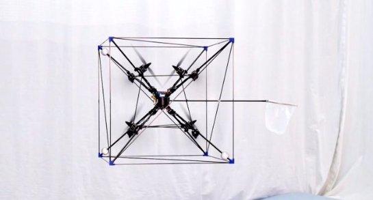 Создан беспилотник, который может одинаково хорошо двигаться в разных направлениях