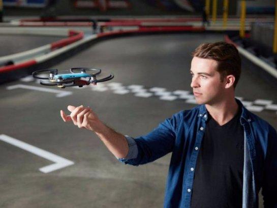 В мире был представлен самый маленький по размерам дрон