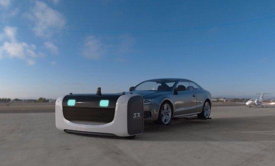 Ученые создали робота, который будет парковать автомобили