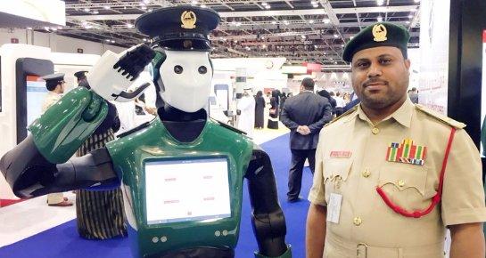 На улицах Дубая будет работать робот-полицейский