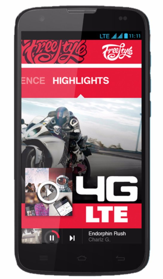 Бюджетные смартфоны Yezz  в магазине электроники