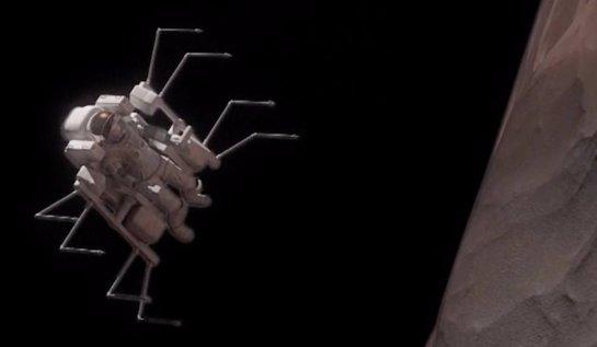 Для исследования спутников Марса были придуманы скафандры-пауки