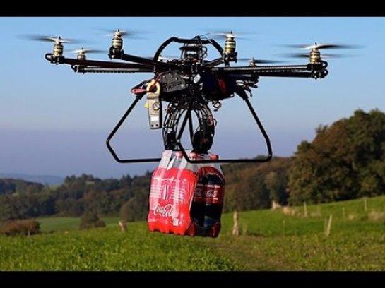 В Китае начнут выпускать дронов с грузоподъемностью до тонны