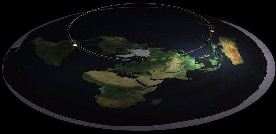 Американец предоставил доказательства того, что Земля не круглая, а плоская