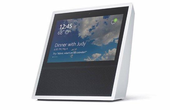 Amazon презентовала «умную» колонку с сенсорным экраном и голосовым помощником