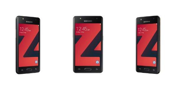 Новый Samsung Z4 на базе ОС Tizen