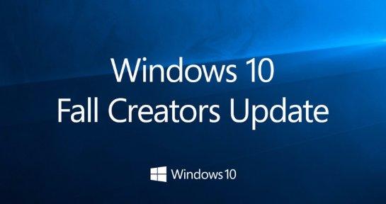 Новые обновления Windows 10  Fall Creators Update